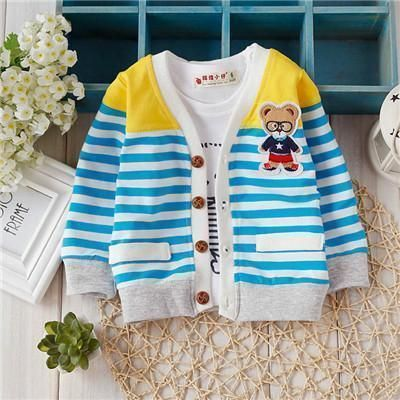 Photo of New Arrival Baby sweater 2017 Autumn Kids Boys Girls Children knitted Sweaters Shirts  Bear Teddy knit baby cardigan TN020