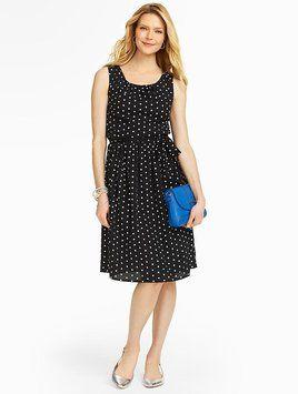 65b505dbab3 Talbots short dress BLACK WHITE on Tradesy