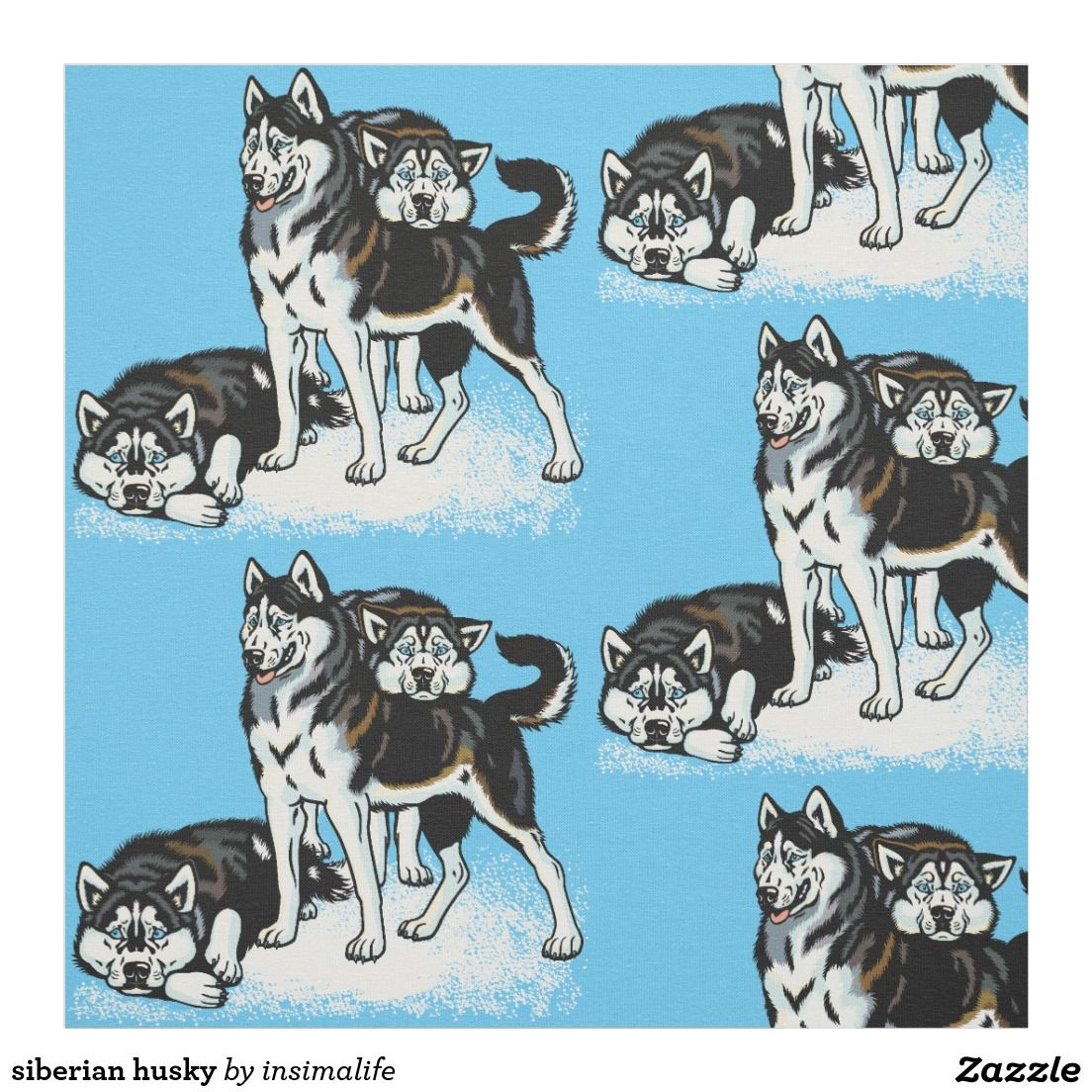 I Love Huskies Womens husky Dog Purple Socks