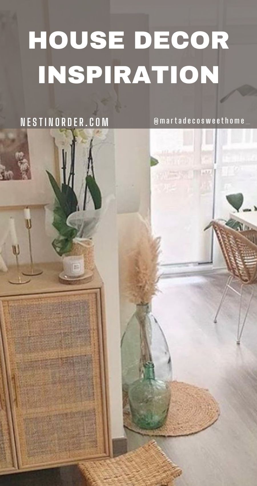 Make your home trendy and smart with our decoration ideas. Follow the link for more inspo! #homedecor #homedecorationideas #nestinoorder