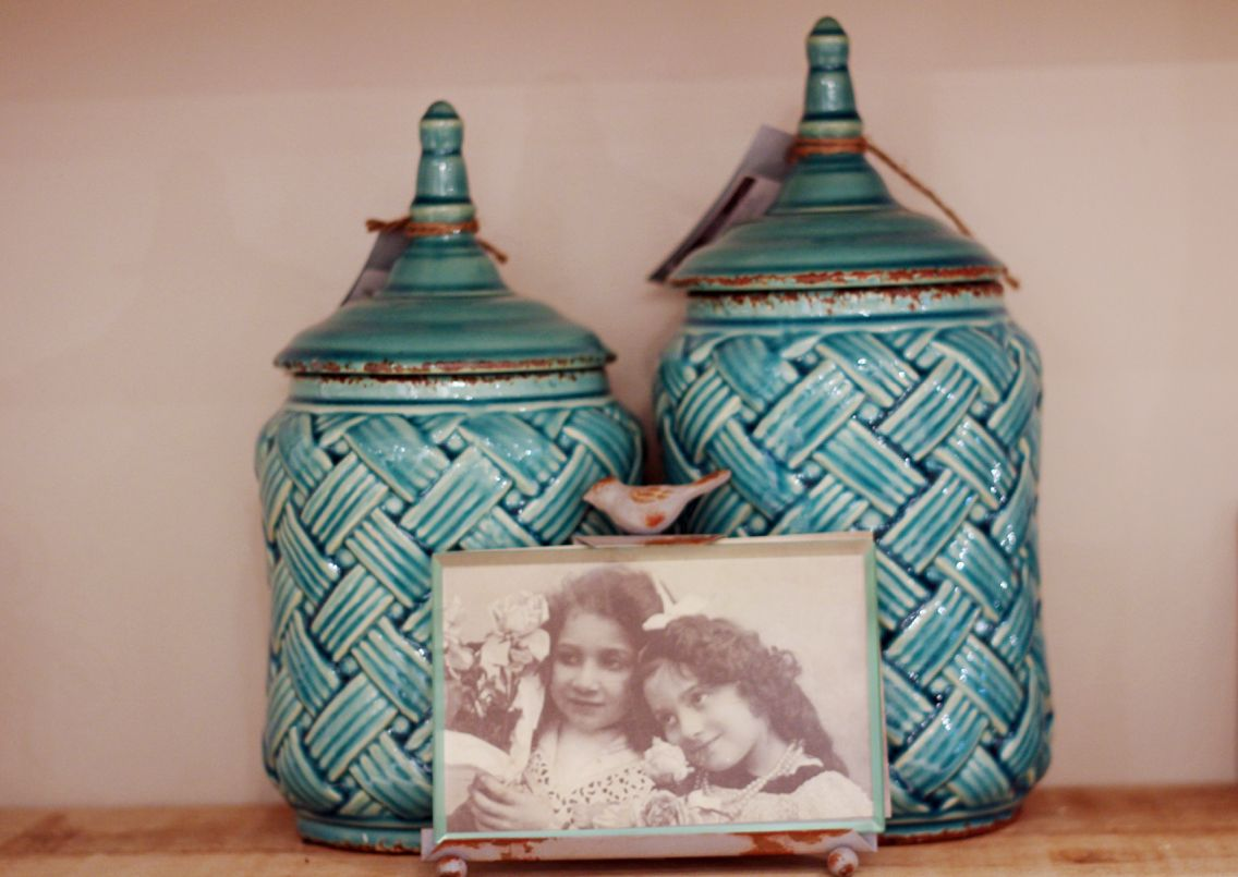 Lovely blue jars and the cutest picture frame for your home. Come check them out at Entwine in the Fayette Mall in Lexington, Ky!!!