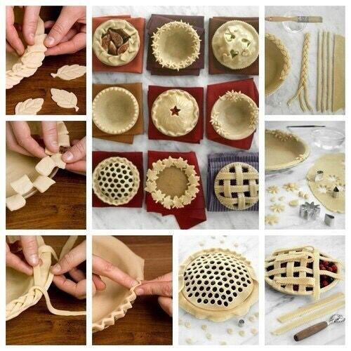 Idée de modèle de décoration à faire sur des tarte aux fruit très simple. 🍰👍 | Décoration tarte ...