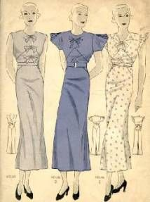 Women's Clothing in the 1930s