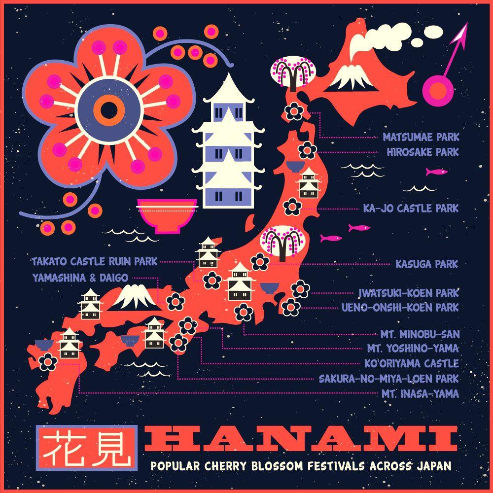 Hanami (Cherry Blossom festival across Japan) ~ Tracy Walker