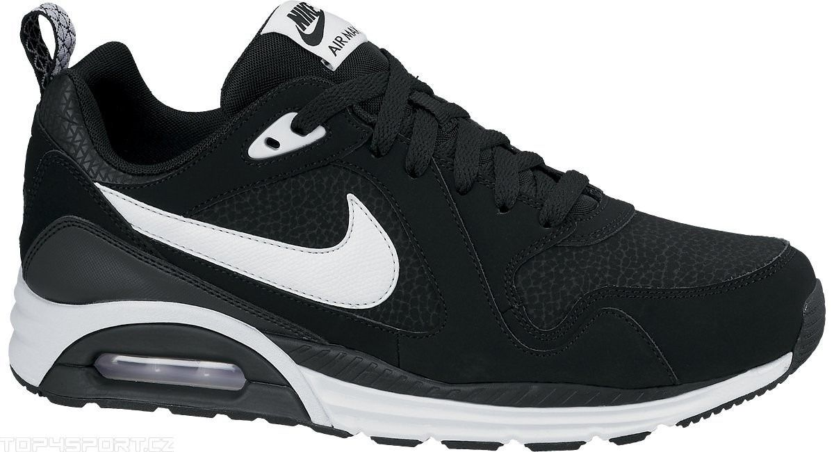 snad295t8osa Kids Black Nike Air Max Trax Junior Trainer