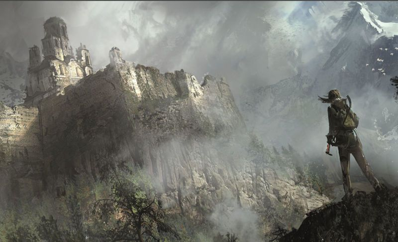 The Concept Art Behind Rise Of The Tomb Raider Tomb Raider