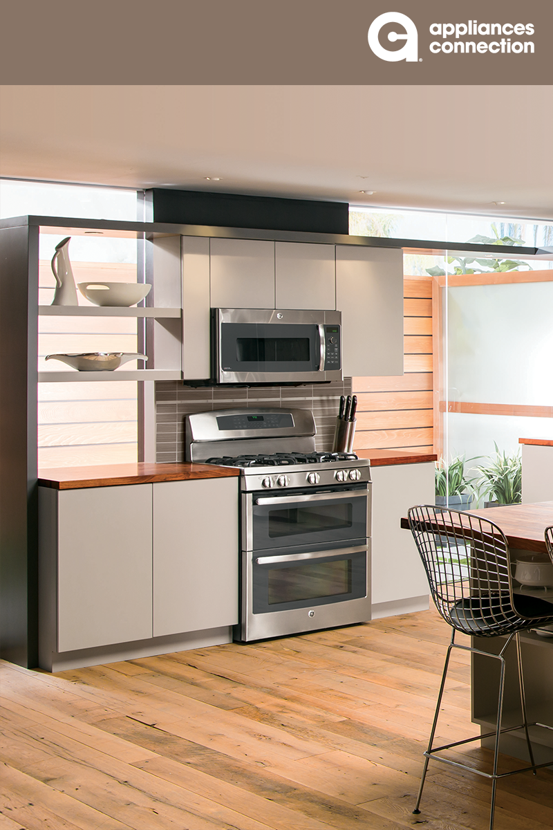 Love The Look Of A Built In Wall Oven With Cooktop Above A