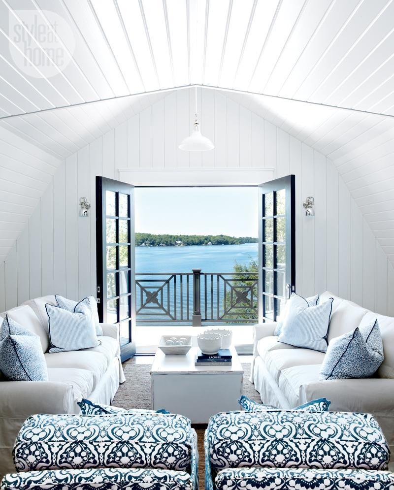 House tour: Coastal-style cottage | Coastal style, Cottage living ...
