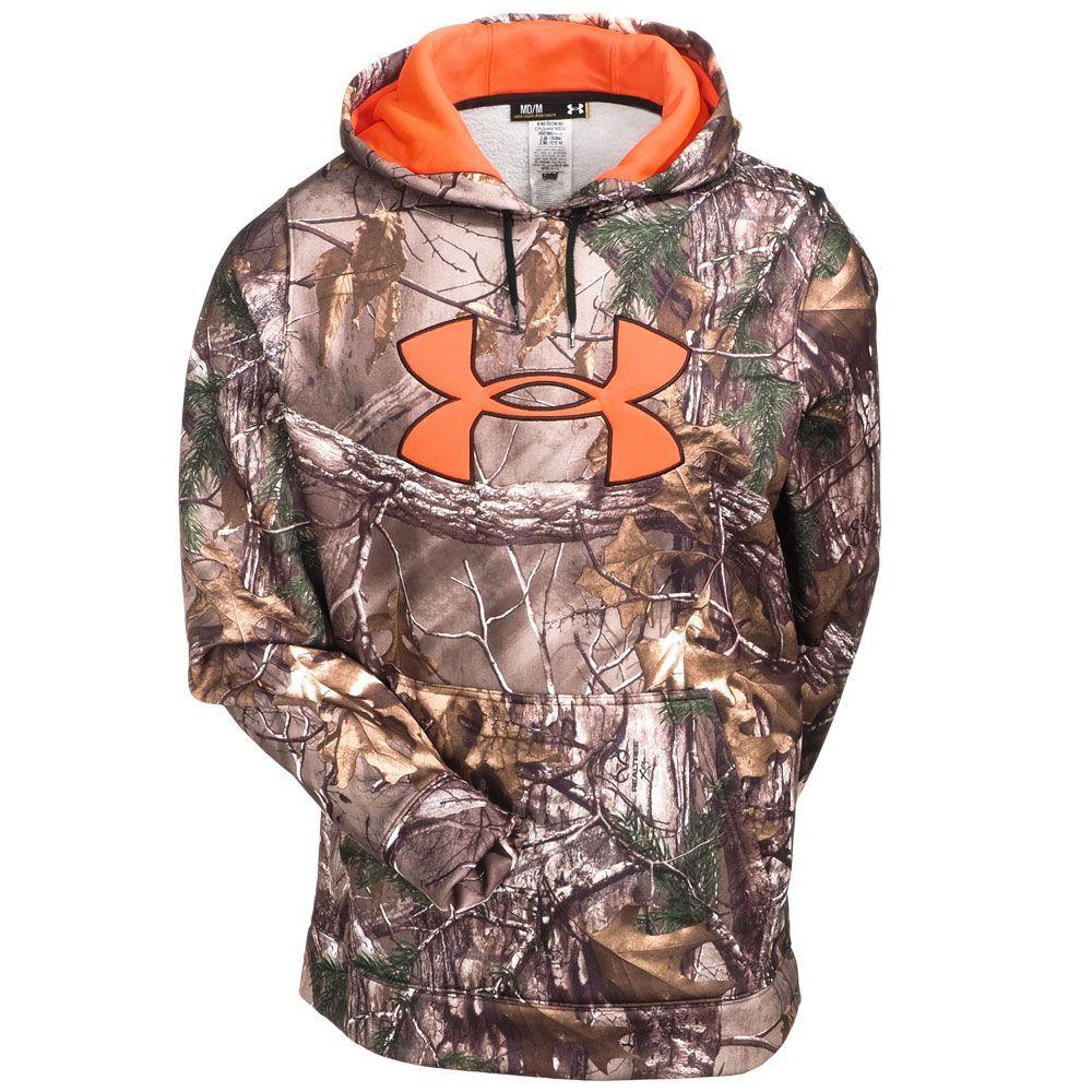 c05d9800f Under Armour Men's Realtree Xtra Camo Hooded Sweatshirt 1249745 949 ...