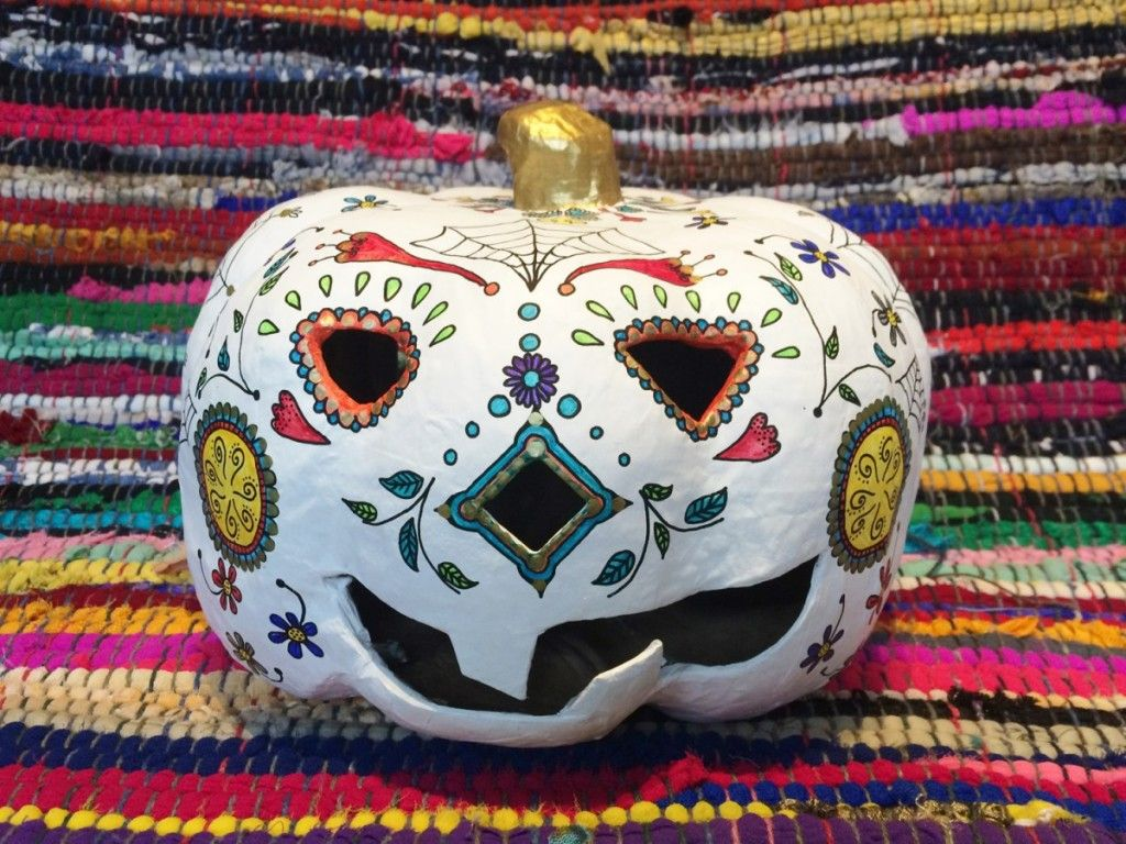 How to Create an Alternative Halloween Pumpkin #CraftPumpkin #Pumpkin #Halloween