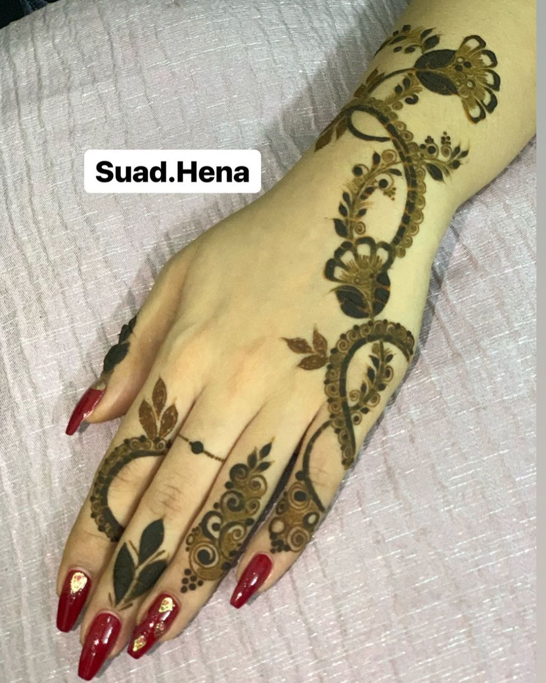 Image May Contain One Or More People Henna Designs Finger Henna Designs Latest Mehndi Designs