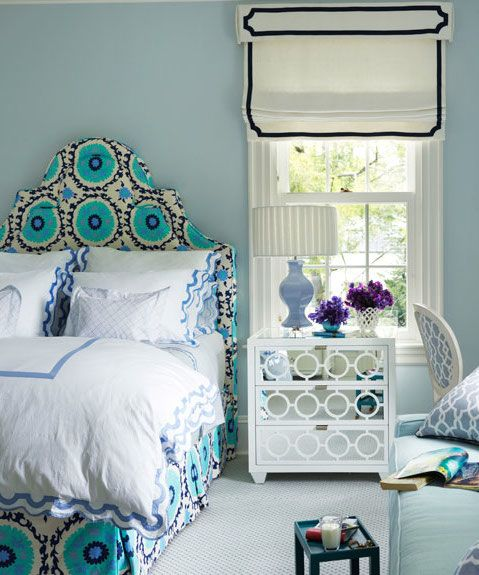 Designer Ashley Whittaker Wanted This Greenwich Connecticut Bedroom For Her Client S College Age Daughter To Feel Sophisticated But Still Youthful And