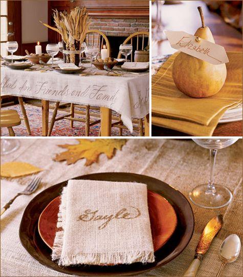 Elegant #Thanksgiving #Table Setting.