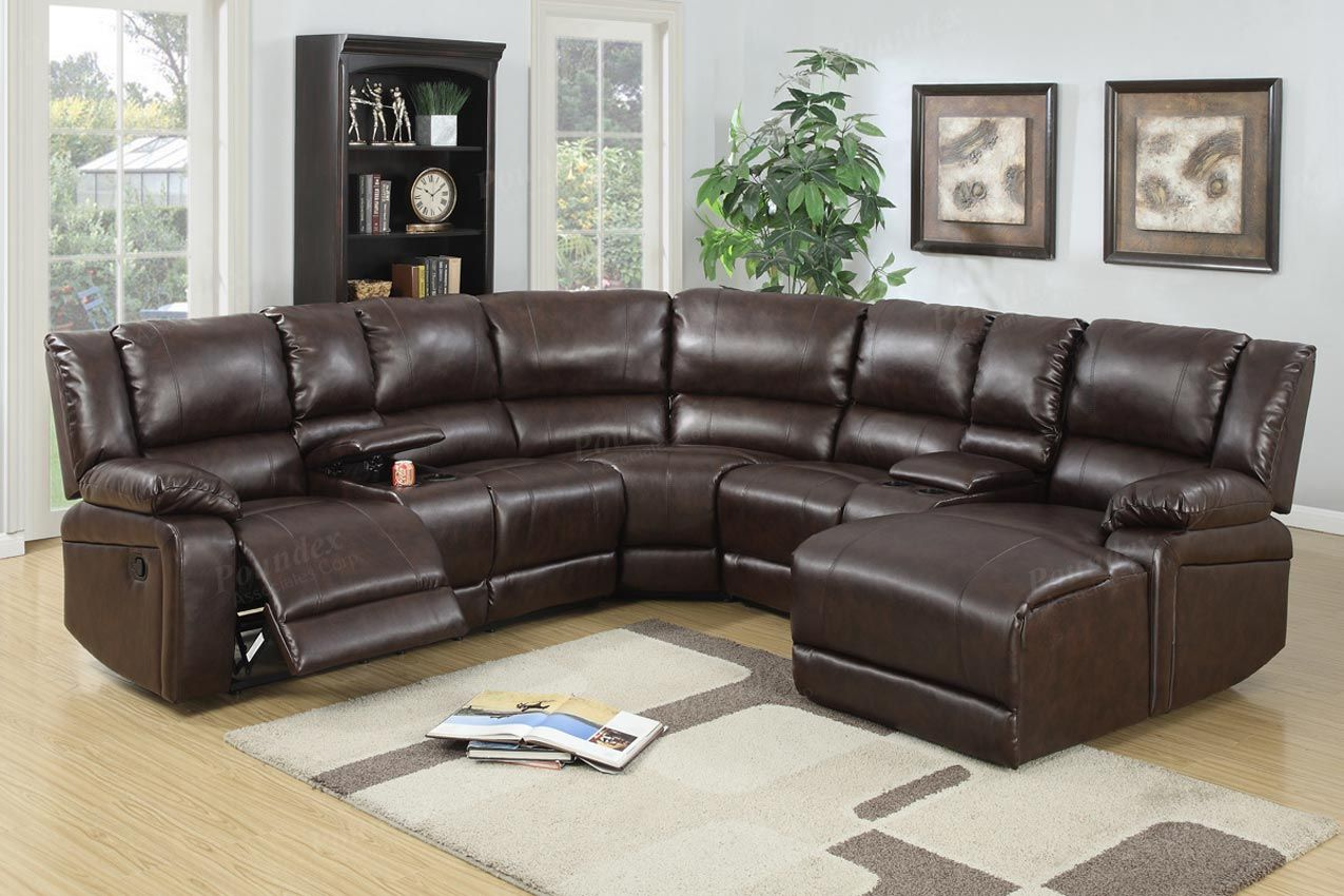 Leather Reclining Sofa Set Image Download