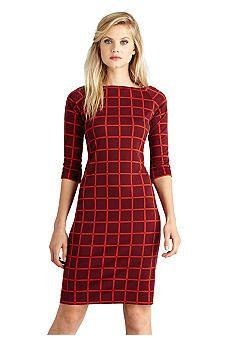Donna Morgan Printed Sheath Dress