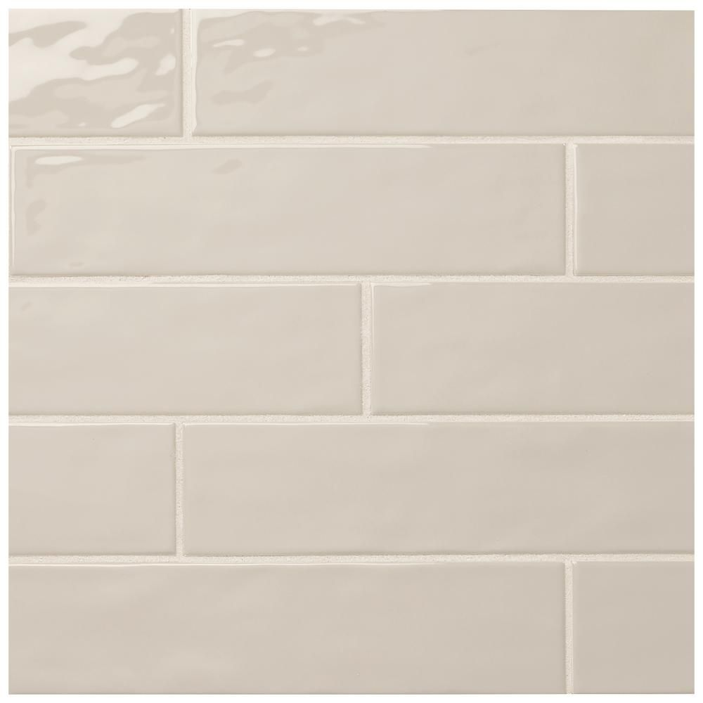 Marazzi Luxecraft Taupe 3 In X 12 In Glazed Ceramic Wall Tile 0 25 Sq Ft Piece Lc16312hd1p2 The Home Depot Wall Tiles Taupe Walls Ceramic Wall Tiles