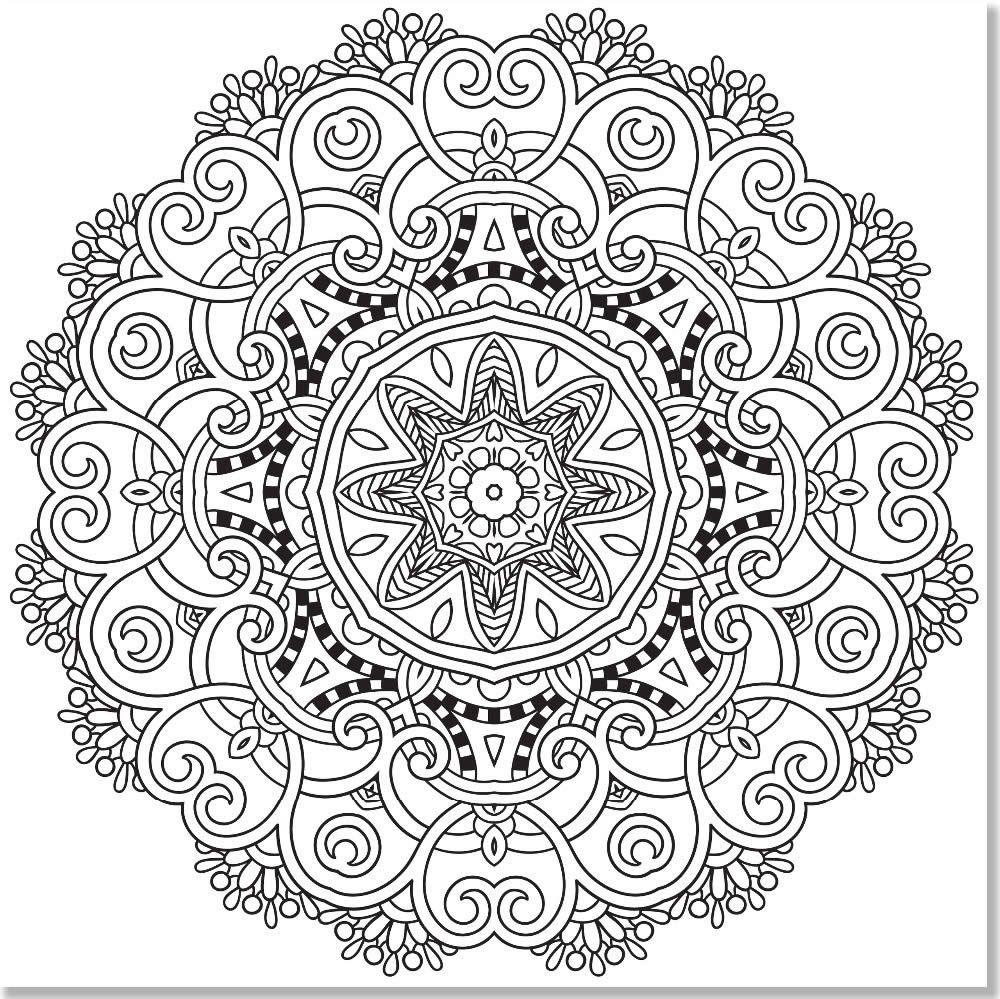 mandalas para colorear niños | manualidades | Pinterest | Mandalas ...