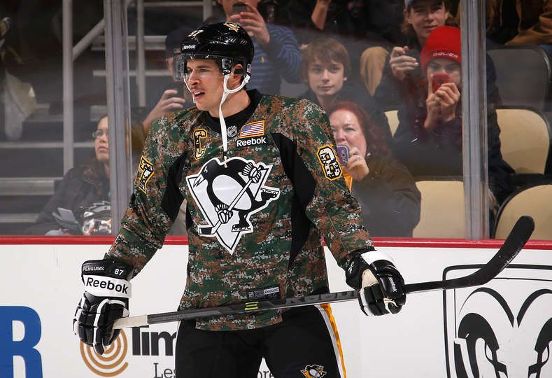 separation shoes f5720 0377e Penguins vs. Rangers - 11/15/2014 - Sidney Crosby #87 of the ...