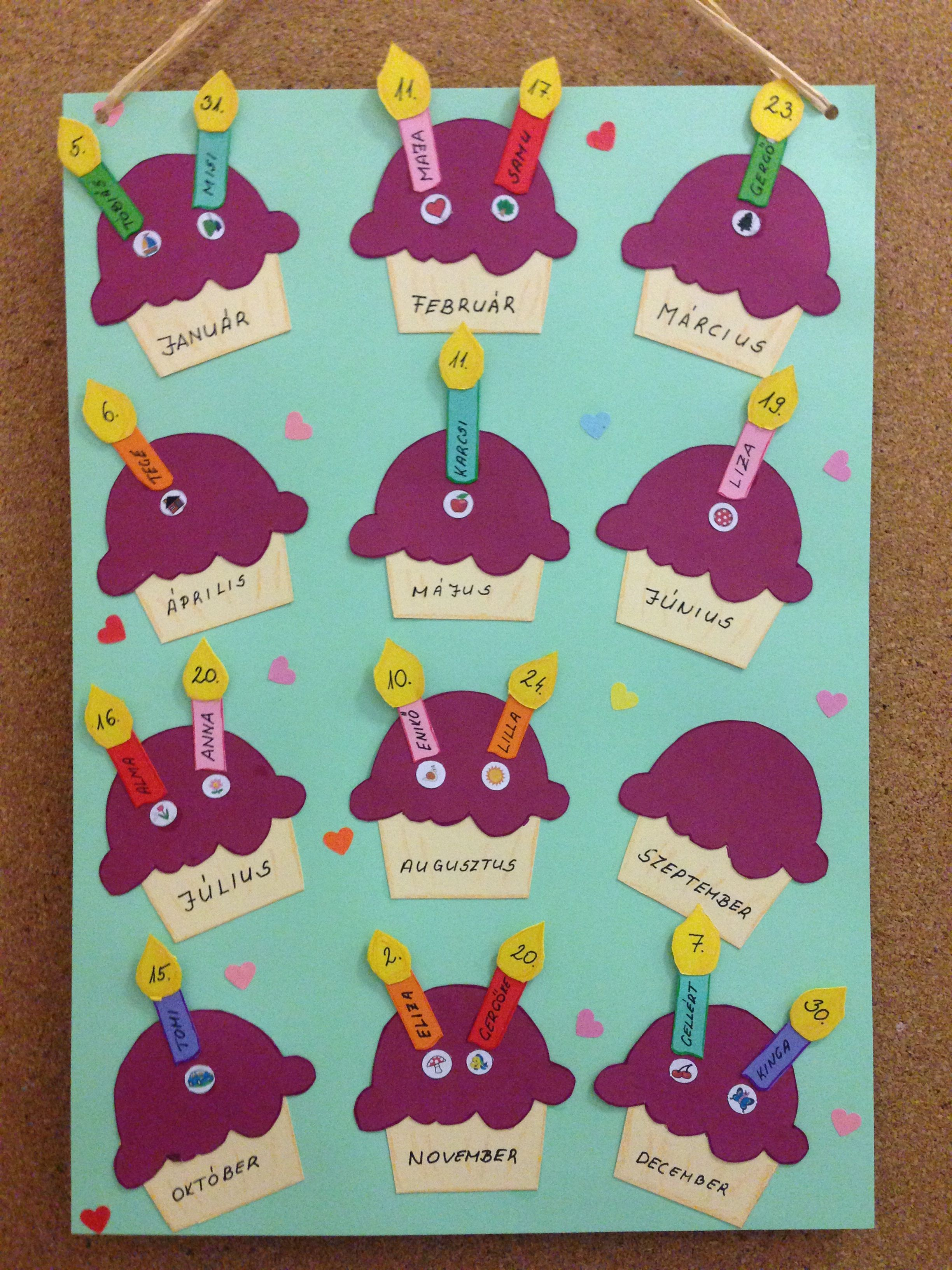 Pin By Florence On Kids Birthday Board Classroom Classroom Birthday Birthday Chart Classroom