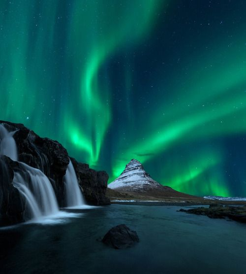 babescapes: radivs: Kirkjufell by OaKy Isra  Via babescapes