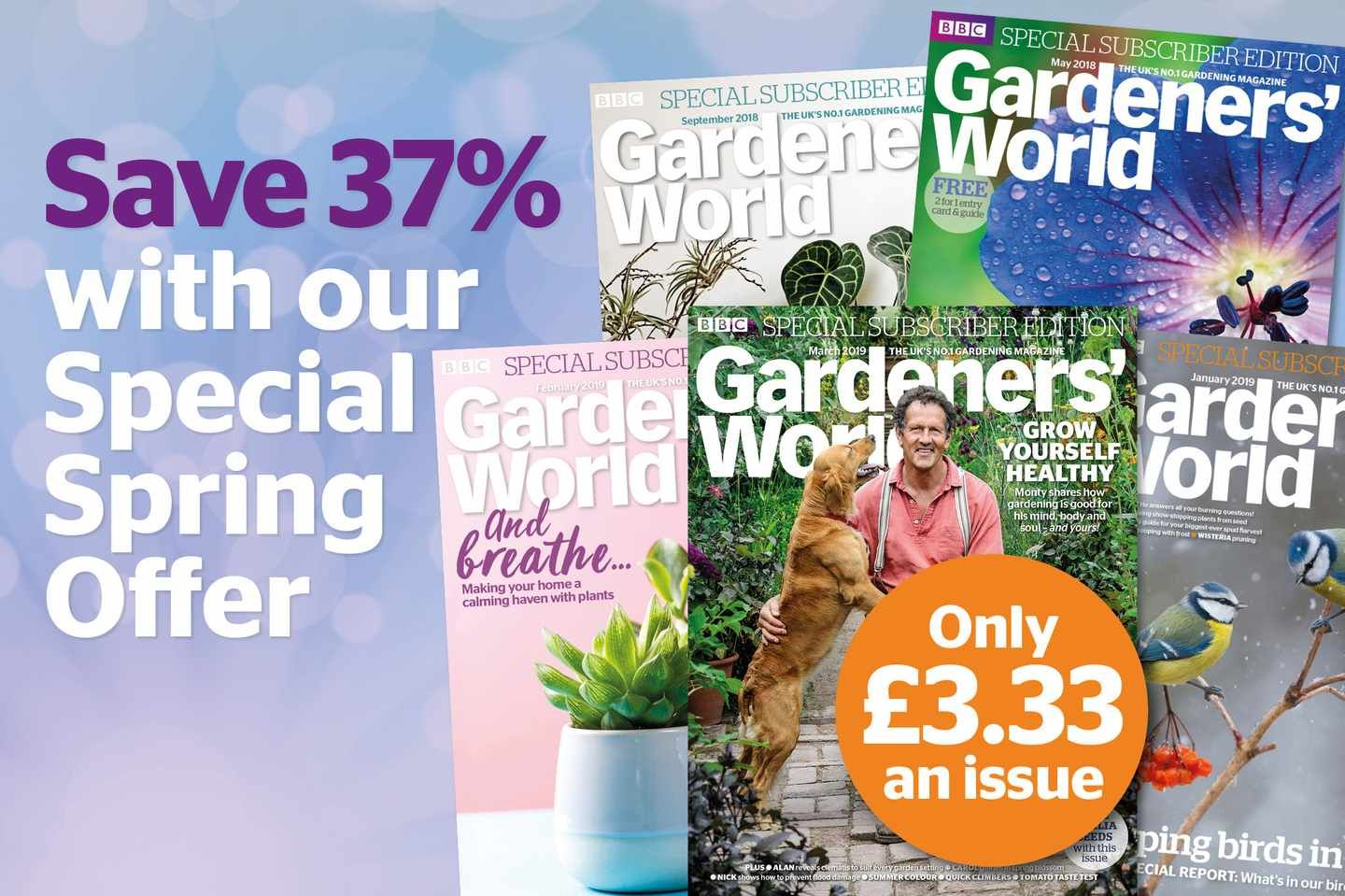 Save 21 On A Gardeners World Magazine Subscription World