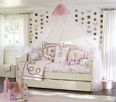 Madeline Daybed Trundle Pbkids Girl Room Kids Bed