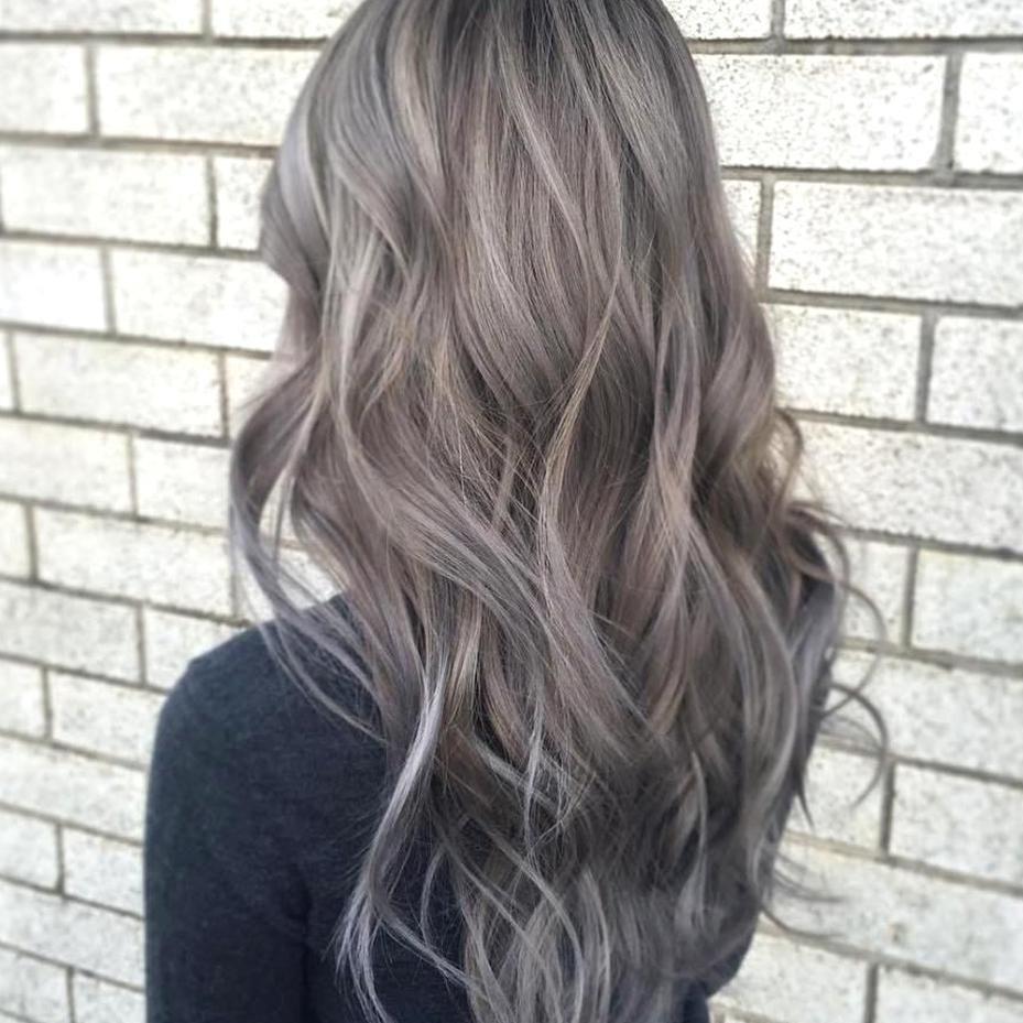 Beautiful Light Gray Brown Hair In 2020 Ash Hair Color Ashy Hair Grey Brown Hair