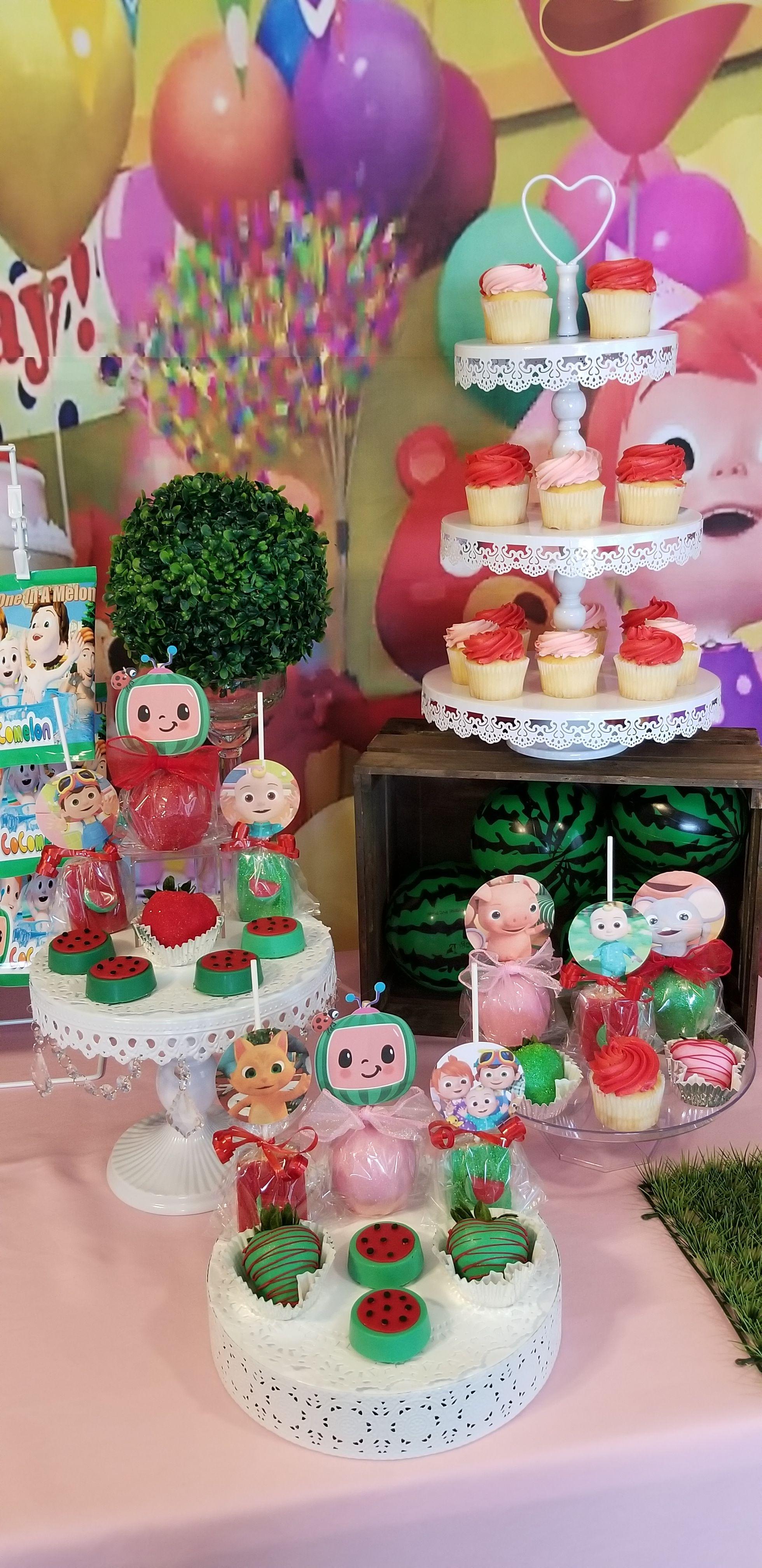 Cocomelon Dessert Table Decorations Fiesta Birthday Party 1st Birthday Decorations 2nd Birthday Party Themes