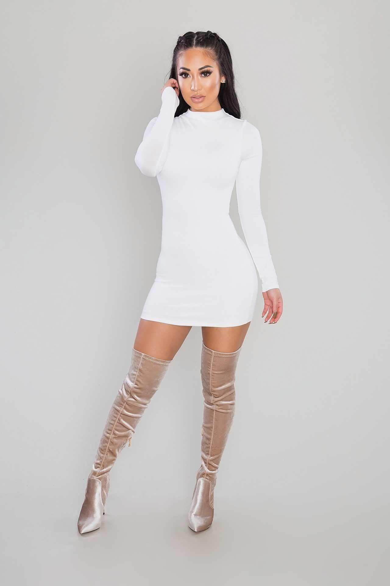 a2dcfa4131e Velvet Over-The-Knee Boots - Champagne