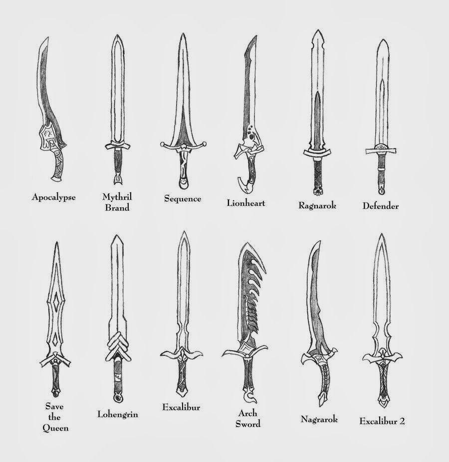 Ffta2 swords