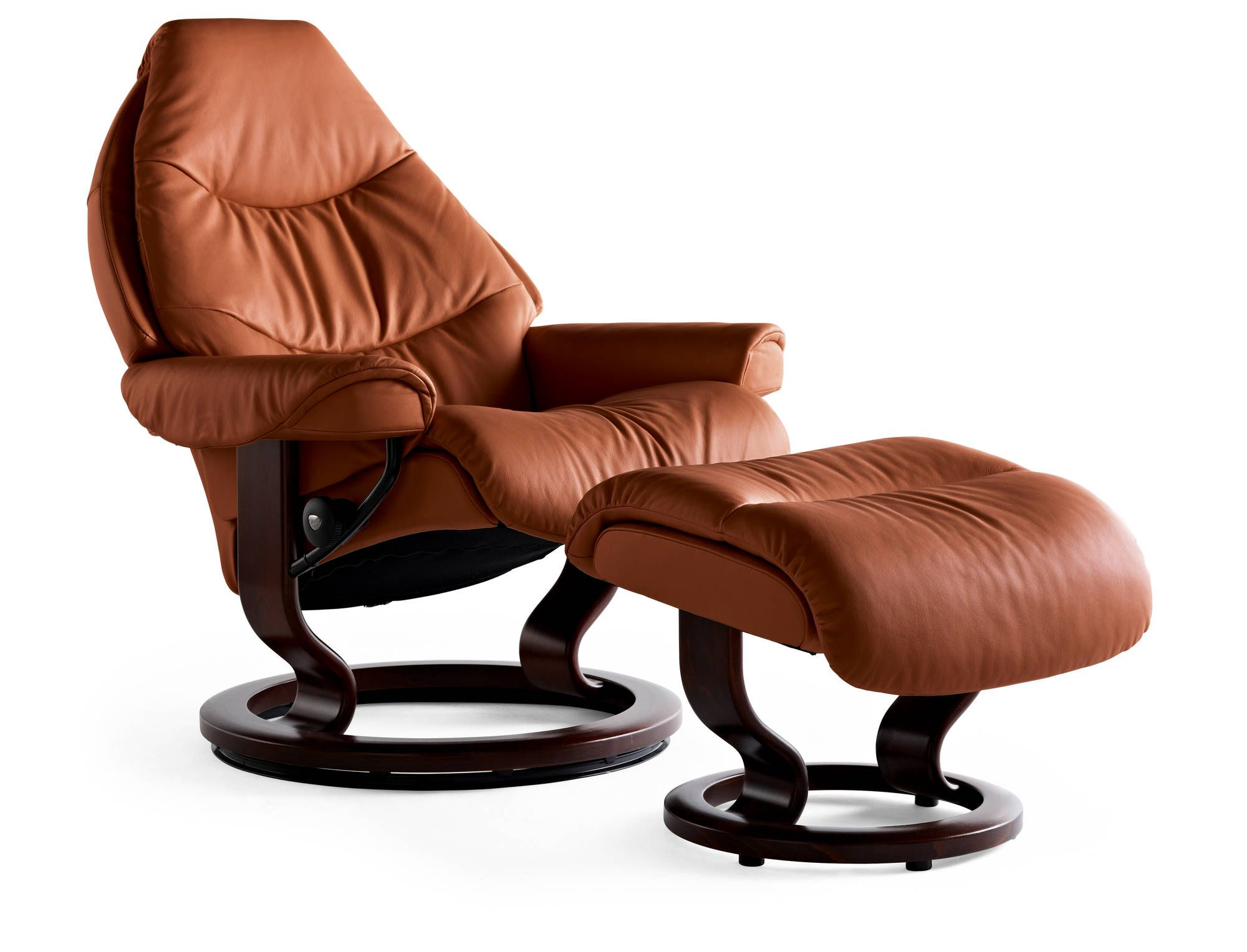 Stressless Ekornes Sessel Tigereye Royalin Leather Voyager Recliner By Ekornes Ekornes