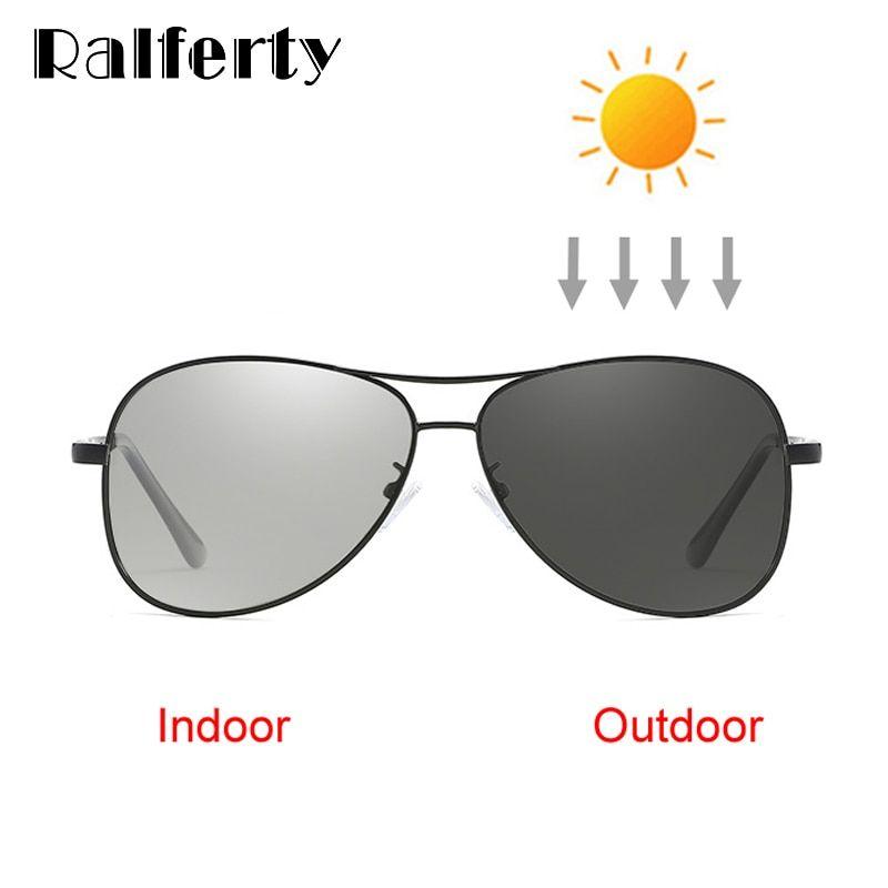829f51c70cd Ralferty Classic Pilot Photochromic Sunglasses Men Polarized UV400 High  Quality Driver Glasses Male 2018 Chameleon Eyewear X7750 Review