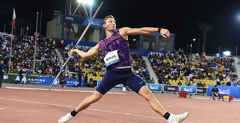 Thomas Röhler's 93.90m in Doha Javelin throw, Track