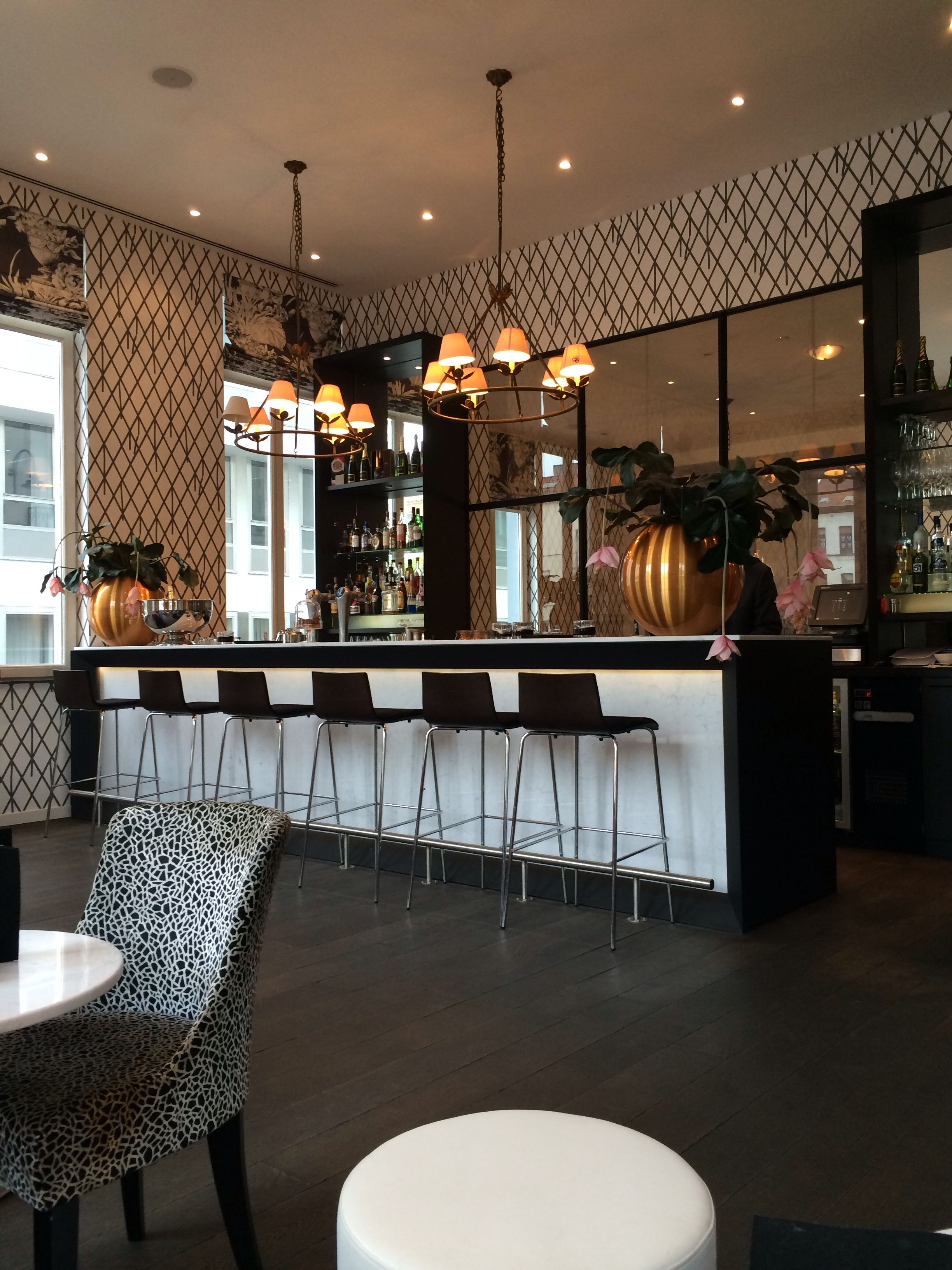 Sandton Pillows Hotel In Brussels Restaurant Bar Designrestaurant