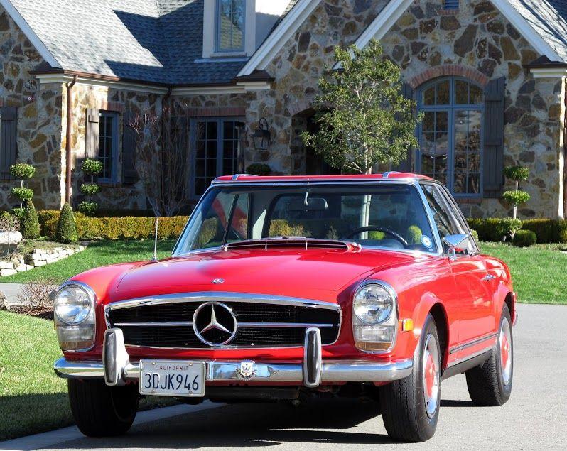 1968 Mercedes 250sl #Classic #Mercedes #ClassicCar #ClassicMercedes #Vintage #MuscleCar #Car