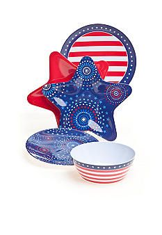 Home Accents® Americana Dinnerware Collection  sc 1 st  Pinterest & Home Accents® Americana Dinnerware Collection | 4th/Memorial Day ...
