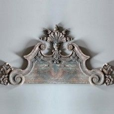 Huge Metal Wall Crown Wall Pediment Architectural Wall Panels