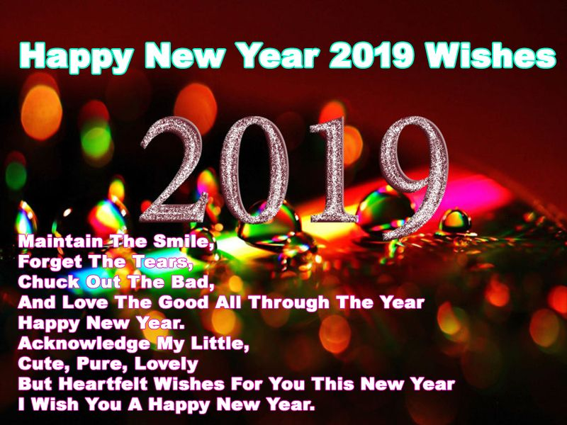 Happy New Year Wishes 2019 | Quotes about new year, Happy ...