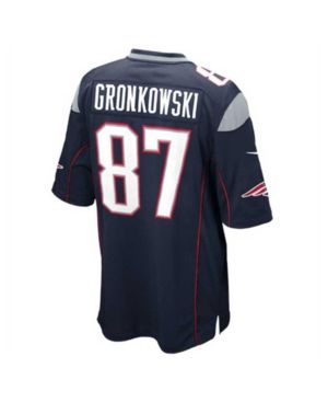 bd4554d7f Nike Men s Rob Gronkowski New England Patriots Limited Jersey - Blue 3XL