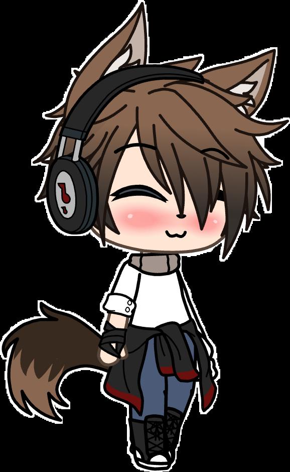 Freetoedit Smile Wolf Gacha Gachalife Cute Mark Boy Remixit Anime Wolf Cute Anime Character Anime Wolf Girl