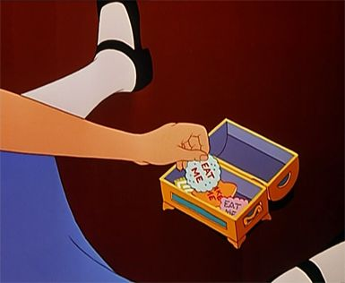 Alice In Wonderland Eat Me Cookie For Anyone Who Doesn T