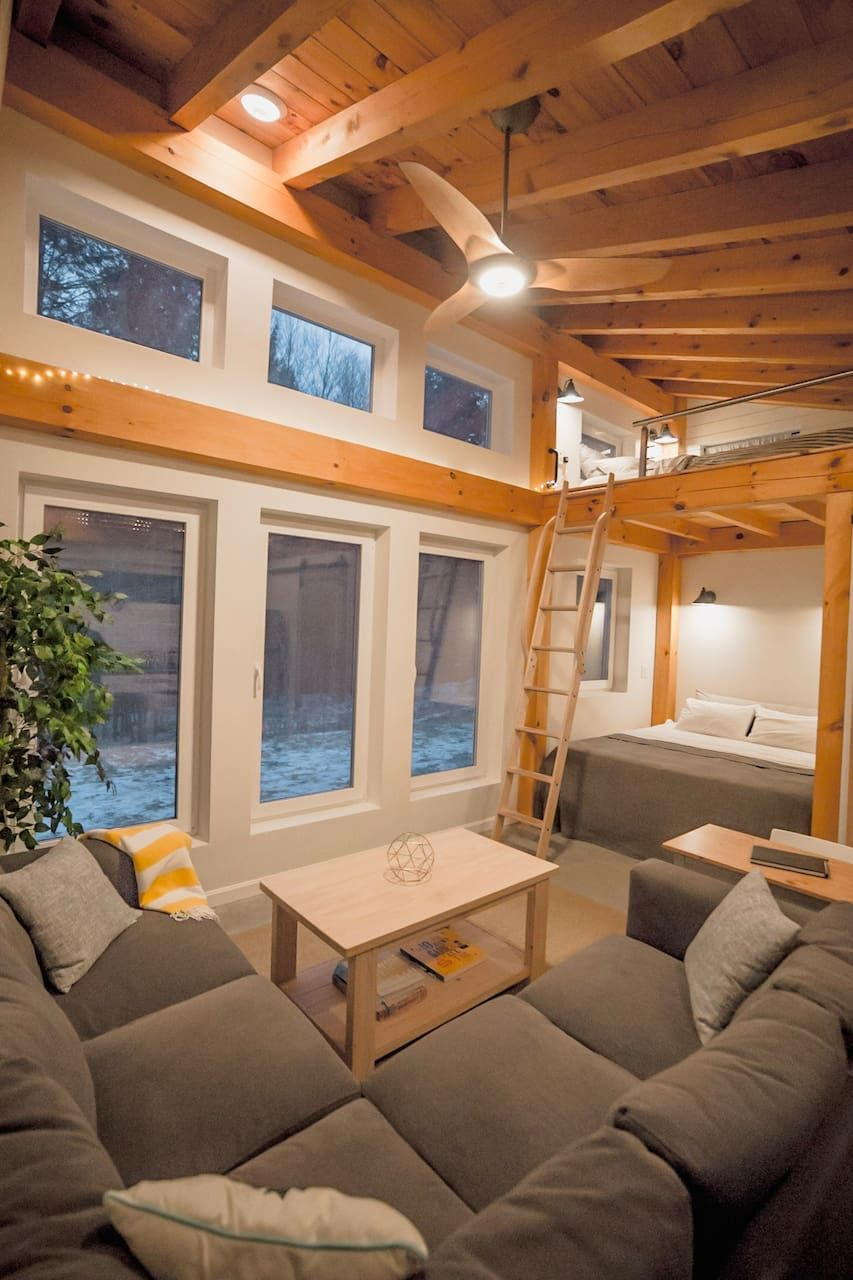 Honeycrisp Cottage A Tiny Timber Frame Tiny houses for Rent in Putney Vermont United States
