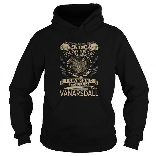 I Love VANARSDALL-the-awesome Shirts & Tees