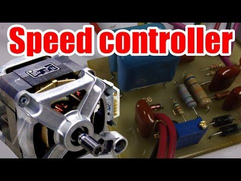 Easy circuit! How to make AC Motor Speed Controller (Part 1