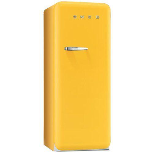 SMEG Kühlschrank gelb | Yellow Sunshine | Pinterest | Amazon