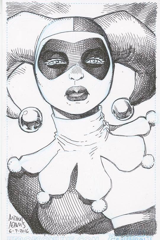 Harley Quinn by Arthur Adams
