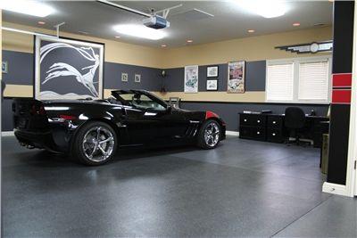 Fancy Garage Garage Floors Deco Illusions Llc Roanoke In