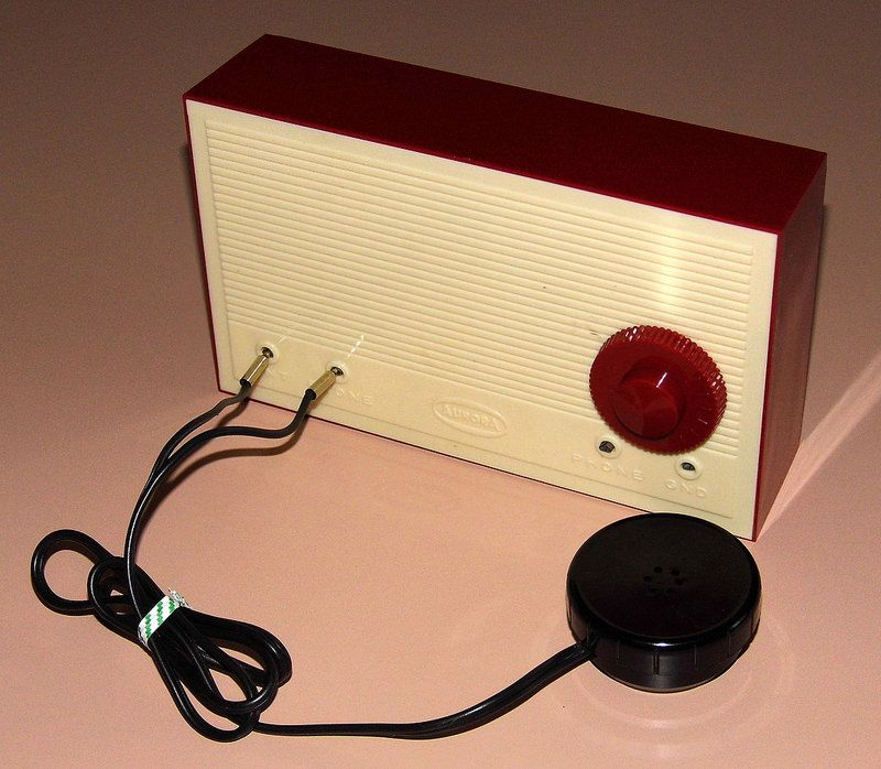 Vintage Aurora Crystal Radio Kit Made In Usa Kit No 1611 Copyright 1957 Radio Kit Antique Radio Retro Radios