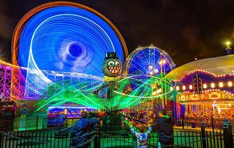Luna Park Sydney Rides