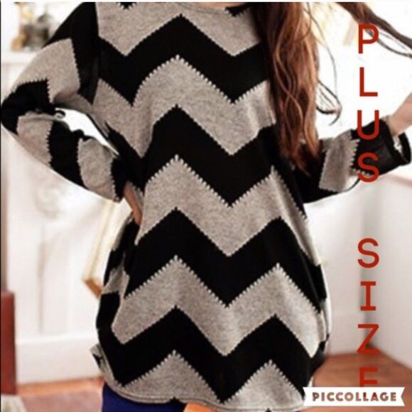 Restocked Long Sleeve Chevron Blouse❤️ ❌Do Not Buy This Listing.❌ ✅Tag me with your size & I will make a listing for you✅ Material is Polyester/Lace Measurements ➡️XL 12/14 Boutique Tops Blouses